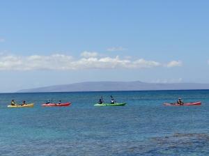 Kayac en Maui