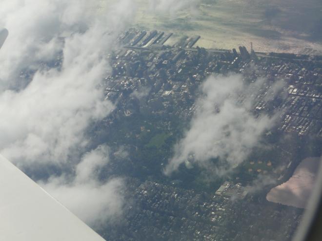 Central Park de Nueva York desde arriba